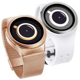 ZEROO ゼロ COFFEE TIME コーヒー・タイム 腕時計 デザイナーズウォッチ おしゃれ シンプル デザイン ファッション 個性派ウォッチ 輝く盤面 珍しい