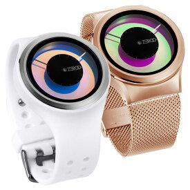 ZEROO ゼロ MAGIA AURORA マギア・オーロラ 腕時計 デザイナーズウォッチ おしゃれ シンプル デザイン ファッション レインボー カメレオンカラー 見る角度で色が変わる!個性派ウォッチ 輝く盤面 珍しい