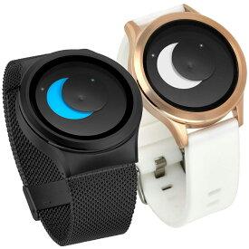 ZEROO ゼロ SUPER MOON スーパー・ムーン 腕時計 デザイナーズウォッチ おしゃれ シンプル デザイン ファッション 個性派ウォッチ 輝く盤面 珍しい
