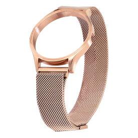 ZEROO 交換用ステンレスメッシュベルト ローズゴールド ZEROO ゼロ 腕時計 [ST08]