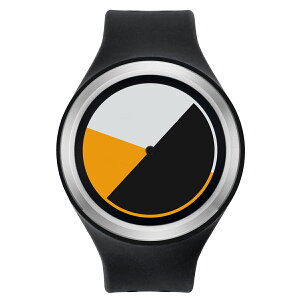 ZEROOCOLOREDTIMEゼロ電池式クォーツ腕時計[W00101B01SR02]ブラックデザインウォッチペア用メンズレディースユニセックスおしゃれ時計デザイナーズ