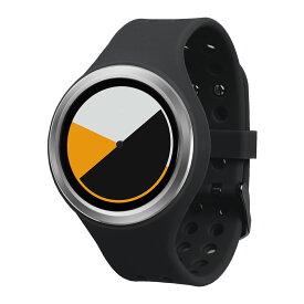 ZEROO COLORED TIME ゼロ 電池式クォーツ 腕時計 [W00101B01SR02] ブラック デザインウォッチ ペア用 メンズ レディース ユニセックス おしゃれ時計 デザイナーズ