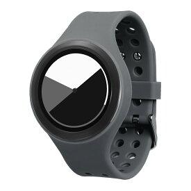ZEROO COLORED TIME ゼロ 電池式クォーツ 腕時計 [W00103B02SR03] グレー デザインウォッチ ペア用 メンズ レディース ユニセックス おしゃれ時計 デザイナーズ