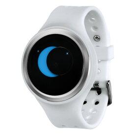 ZEROO SUPER MOON ゼロ 電池式クォーツ 腕時計 [W00201B01SR01] ホワイト デザインウォッチ ペア用 メンズ レディース ユニセックス おしゃれ時計 デザイナーズ
