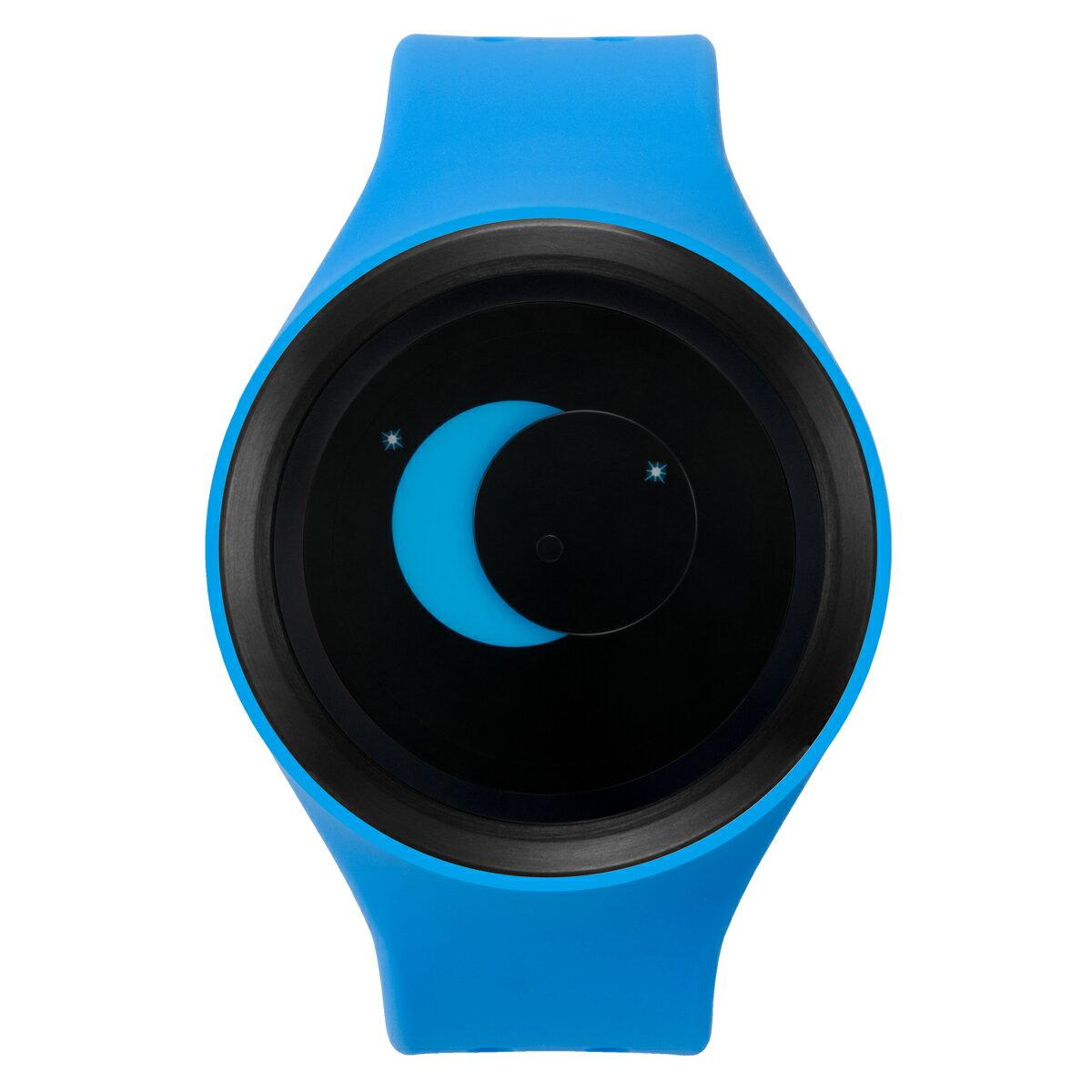 ZEROO SUPER MOON ゼロ 電池式クォーツ 腕時計 [W00201B03SR04] ブルー デザインウォッチ ペア用 メンズ レディース ユニセックス おしゃれ時計 デザイナーズ