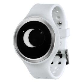 ZEROO SUPER MOON ゼロ 電池式クォーツ 腕時計 [W00202B01SR01] ホワイト デザインウォッチ ペア用 メンズ レディース ユニセックス おしゃれ時計 デザイナーズ