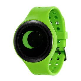ZEROO SUPER MOON ゼロ 電池式クォーツ 腕時計 [W00203B03SR05] グリーン デザインウォッチ ペア用 メンズ レディース ユニセックス おしゃれ時計 デザイナーズ