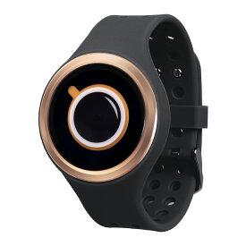 ZEROO COFFEE TIME ゼロ 電池式クォーツ 腕時計 [W00301B05SR02] ブラック デザインウォッチ ペア用 メンズ レディース ユニセックス おしゃれ時計 デザイナーズ