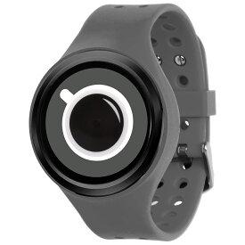 ZEROO COFFEE TIME ゼロ 電池式クォーツ 腕時計 [W00302B03SR03] グレー デザインウォッチ ペア用 メンズ レディース ユニセックス おしゃれ時計 デザイナーズ