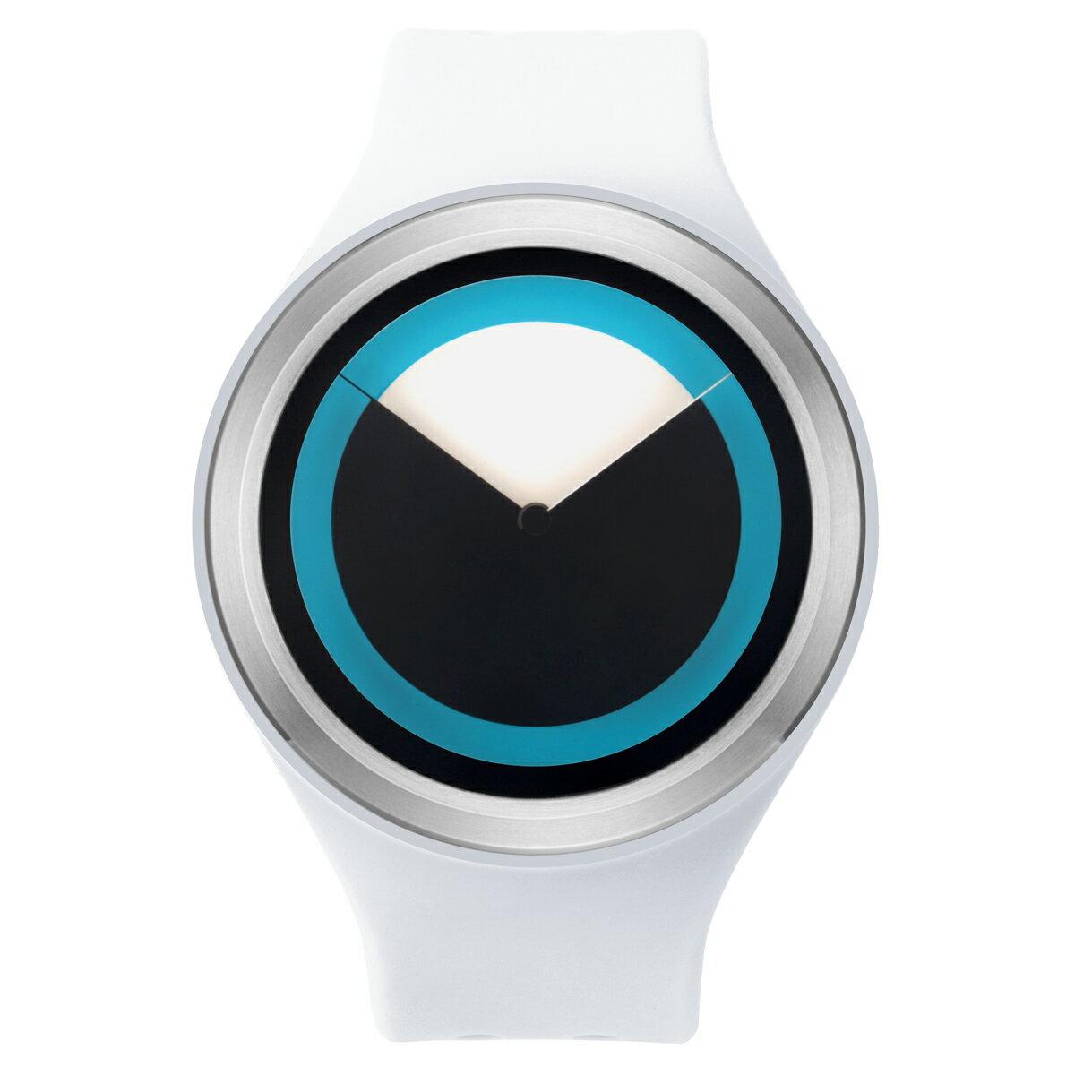 ZEROO DEEPSKY SWEEPING ゼロ 電池式クォーツ 腕時計 [W00401B01SR01] ホワイト デザインウォッチ ペア用 メンズ レディース ユニセックス おしゃれ時計 デザイナーズ