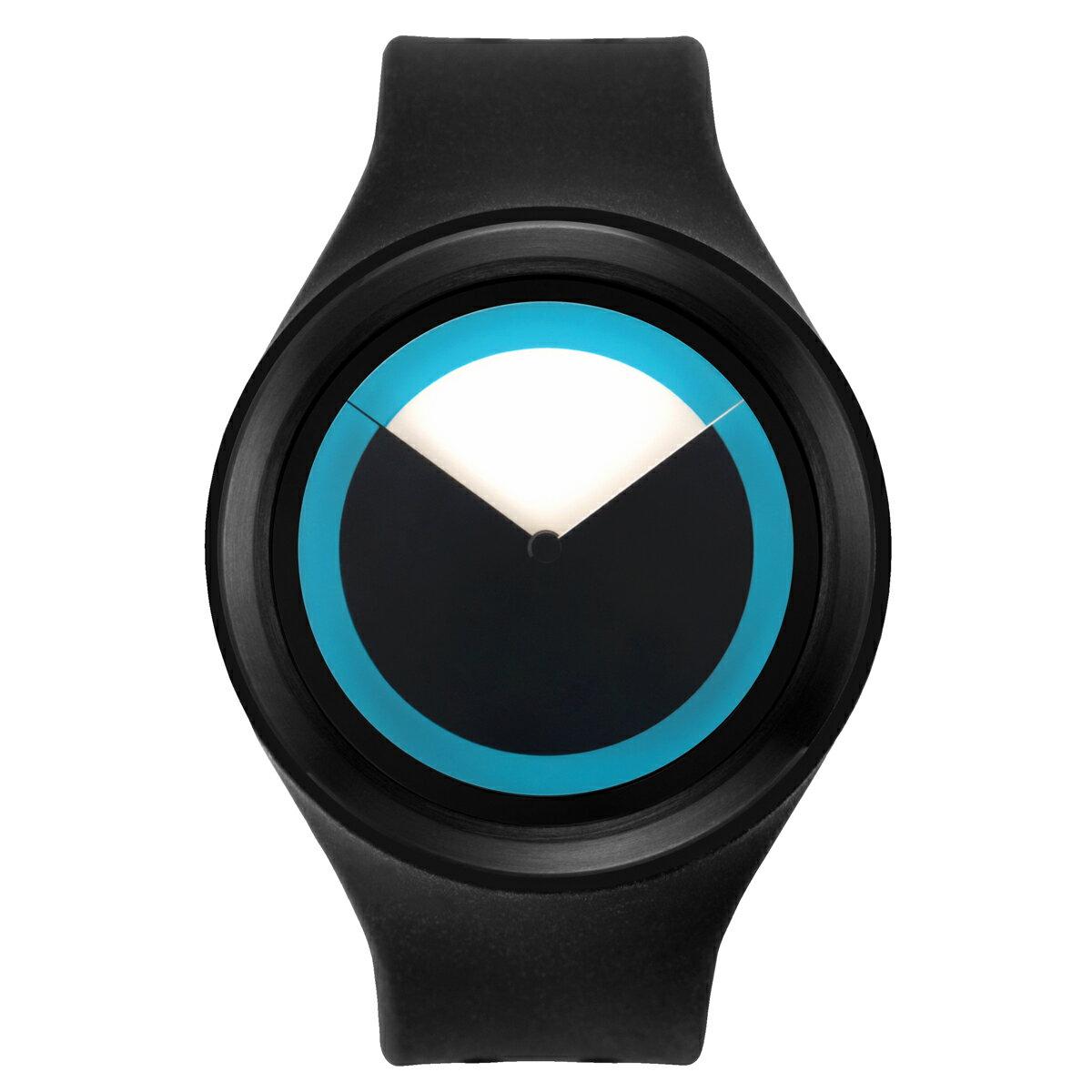 ZEROO DEEPSKY SWEEPING ゼロ 電池式クォーツ 腕時計 [W00401B03SR02] ブラック デザインウォッチ ペア用 メンズ レディース ユニセックス おしゃれ時計 デザイナーズ