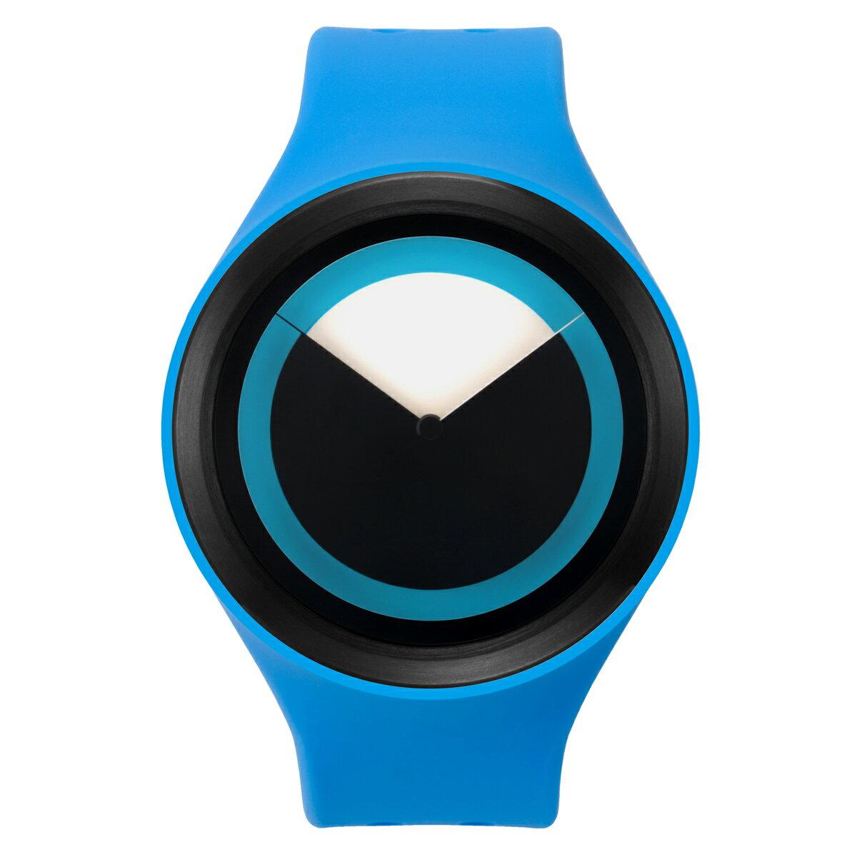 ZEROO DEEPSKY SWEEPING ゼロ 電池式クォーツ 腕時計 [W00401B03SR04] ブルー デザインウォッチ ペア用 メンズ レディース ユニセックス おしゃれ時計 デザイナーズ