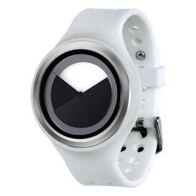 ZEROO DEEPSKY SWEEPING ゼロ 電池式クォーツ 腕時計 [W00402B01SR01] ホワイト デザインウォッチ ペア用 メンズ レディース ユニセックス おしゃれ時計 デザイナーズ
