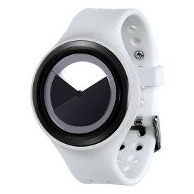 ZEROO DEEPSKY SWEEPING ゼロ 電池式クォーツ 腕時計 [W00402B03SR01] ホワイト デザインウォッチ ペア用 メンズ レディース ユニセックス おしゃれ時計 デザイナーズ