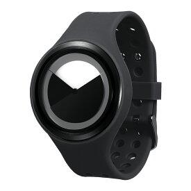 ZEROO DEEPSKY SWEEPING ゼロ 電池式クォーツ 腕時計 [W00402B03SR02] ブラック デザインウォッチ ペア用 メンズ レディース ユニセックス おしゃれ時計 デザイナーズ