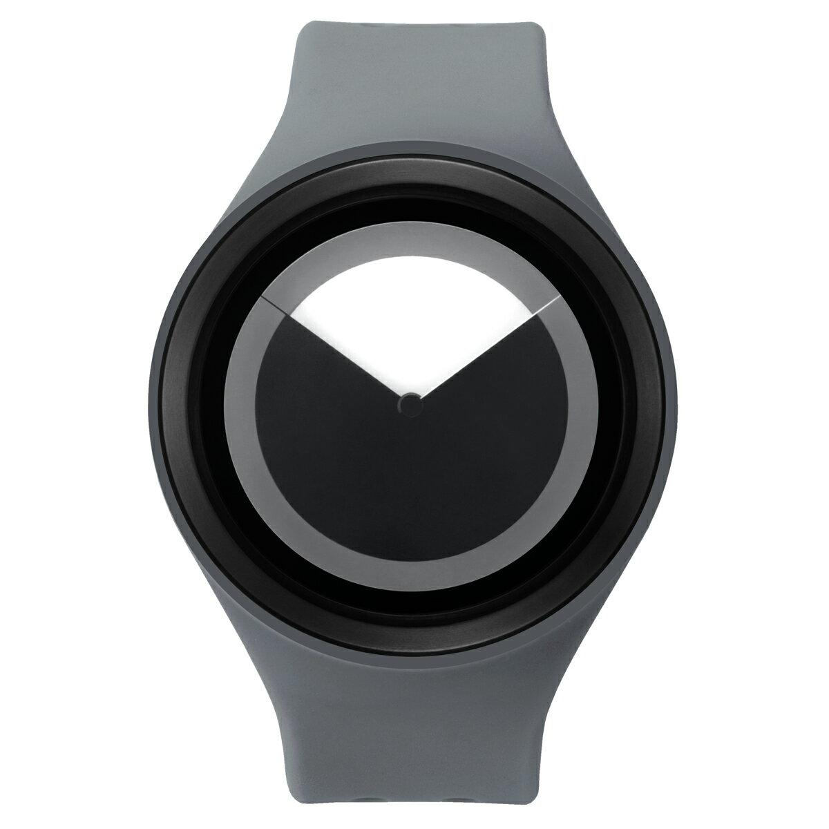 ZEROO DEEPSKY SWEEPING ゼロ 電池式クォーツ 腕時計 [W00402B03SR03] グレー デザインウォッチ ペア用 メンズ レディース ユニセックス おしゃれ時計 デザイナーズ