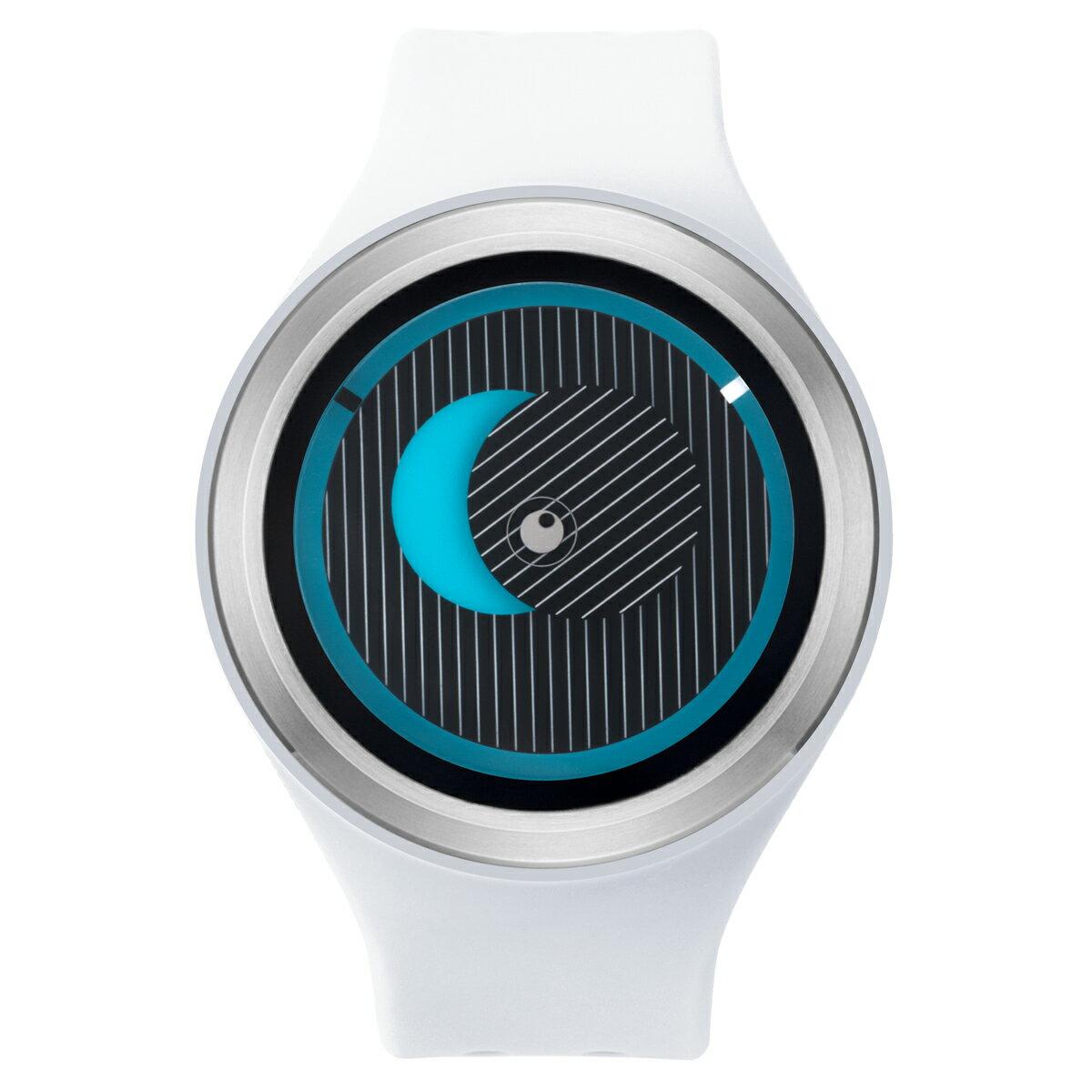 ZEROO SECRET UNIVERSE ゼロ 電池式クォーツ 腕時計 [W00501B01SR01] ホワイト デザインウォッチ ペア用 メンズ レディース ユニセックス おしゃれ時計 デザイナーズ
