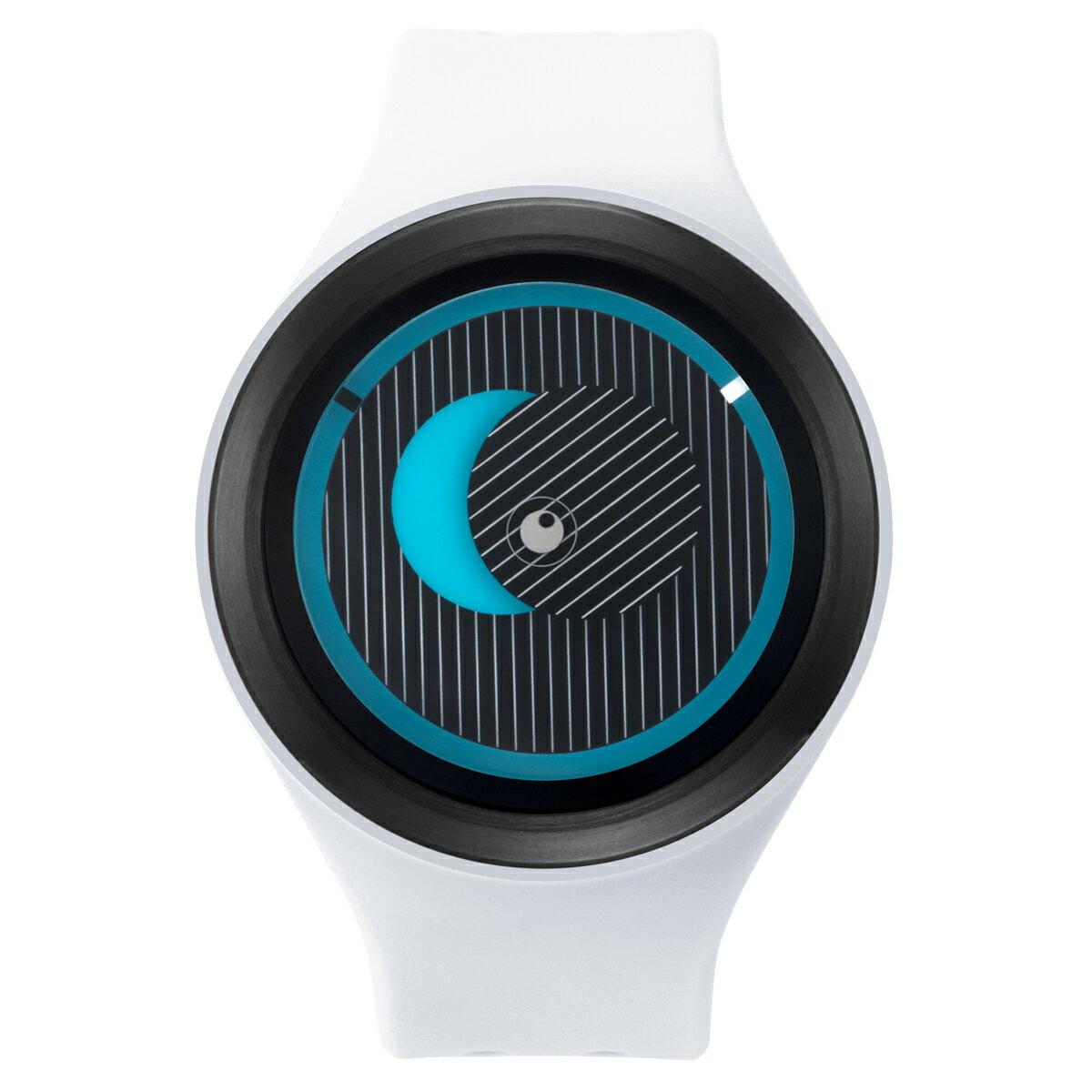 ZEROO SECRET UNIVERSE ゼロ 電池式クォーツ 腕時計 [W00501B03SR01] ホワイト デザインウォッチ ペア用 メンズ レディース ユニセックス おしゃれ時計 デザイナーズ
