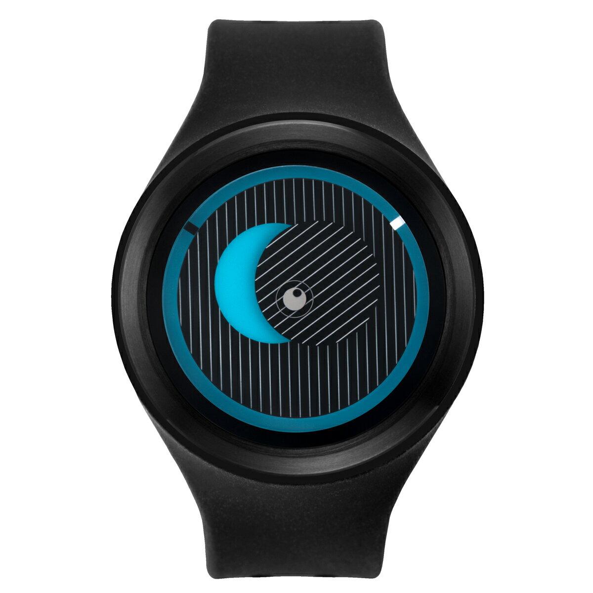 ZEROO SECRET UNIVERSE ゼロ 電池式クォーツ 腕時計 [W00501B03SR02] ブラック デザインウォッチ ペア用 メンズ レディース ユニセックス おしゃれ時計 デザイナーズ