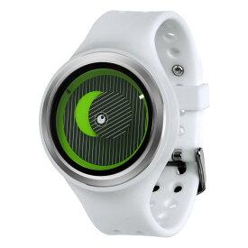ZEROO SECRET UNIVERSE ゼロ 電池式クォーツ 腕時計 [W00502B01SR01] ホワイト デザインウォッチ ペア用 メンズ レディース ユニセックス おしゃれ時計 デザイナーズ