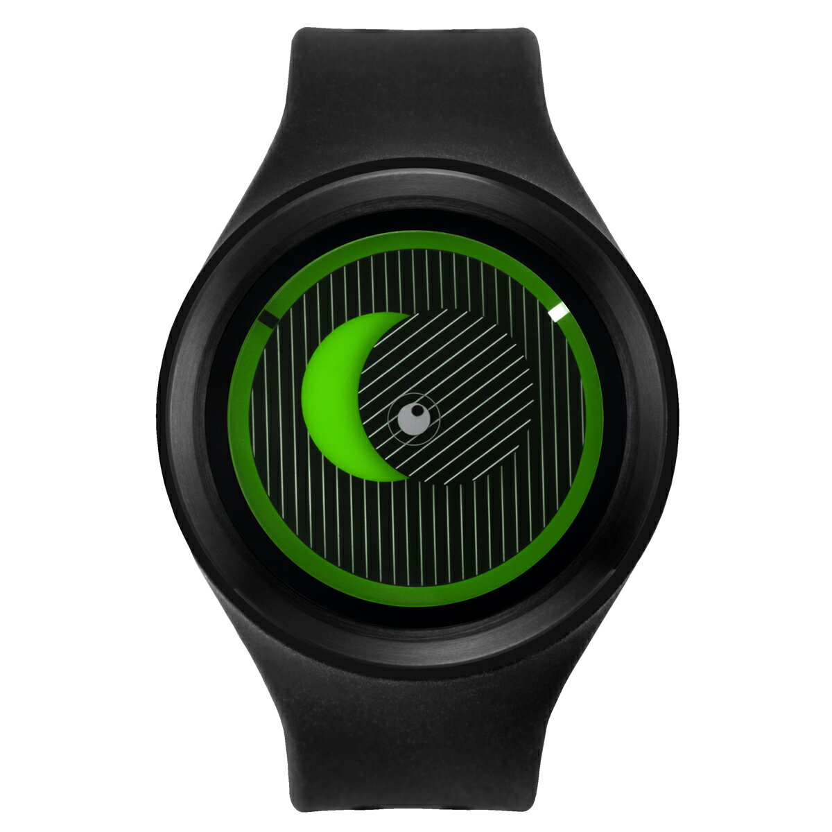 ZEROO SECRET UNIVERSE ゼロ 電池式クォーツ 腕時計 [W00502B03SR02] ブラック デザインウォッチ ペア用 メンズ レディース ユニセックス おしゃれ時計 デザイナーズ