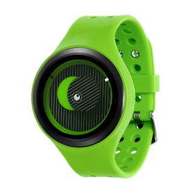ZEROO SECRET UNIVERSE ゼロ 電池式クォーツ 腕時計 [W00502B03SR05] グリーン デザインウォッチ ペア用 メンズ レディース ユニセックス おしゃれ時計 デザイナーズ