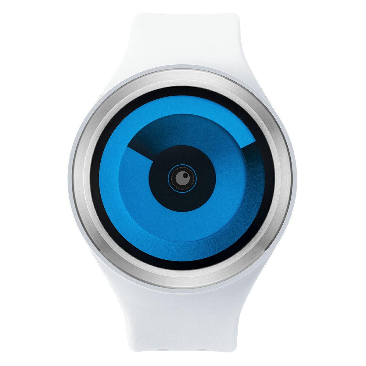 ZEROO SPIRAL GALAXY ゼロ 電池式クォーツ 腕時計 [W00601B01SR01] ホワイト デザインウォッチ ペア用 メンズ レディース ユニセックス おしゃれ時計 デザイナーズ