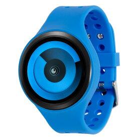 ZEROO SPIRAL GALAXY ゼロ 電池式クォーツ 腕時計 [W00601B03SR04] ブルー デザインウォッチ ペア用 メンズ レディース ユニセックス おしゃれ時計 デザイナーズ
