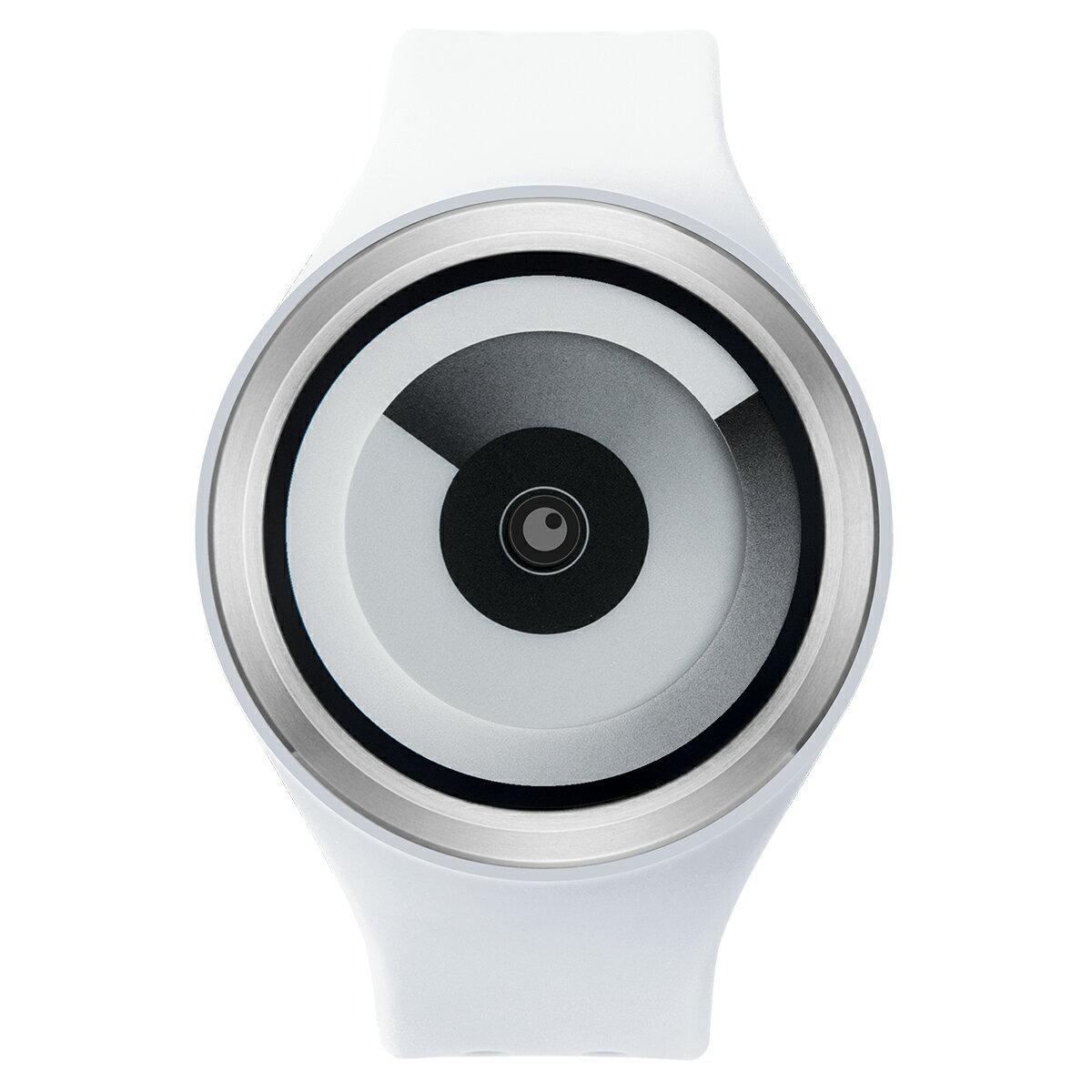 ZEROO SPIRAL GALAXY ゼロ 電池式クォーツ 腕時計 [W00602B01SR01] ホワイト デザインウォッチ ペア用 メンズ レディース ユニセックス おしゃれ時計 デザイナーズ