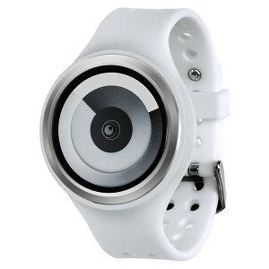 ZEROOSPIRALGALAXYゼロ電池式クォーツ腕時計[W00602B01SR01]ホワイトデザインウォッチペア用メンズレディースユニセックスおしゃれ時計デザイナーズ