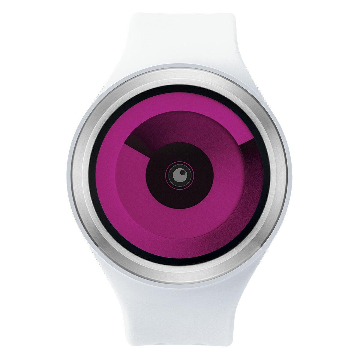 ZEROO SPIRAL GALAXY ゼロ 電池式クォーツ 腕時計 [W00603B01SR01] ホワイト デザインウォッチ ペア用 メンズ レディース ユニセックス おしゃれ時計 デザイナーズ