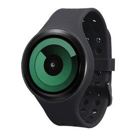 ZEROO SPIRAL GALAXY ゼロ 電池式クォーツ 腕時計 [W00604B03SR02] ブラック デザインウォッチ ペア用 メンズ レディース ユニセックス おしゃれ時計 デザイナーズ