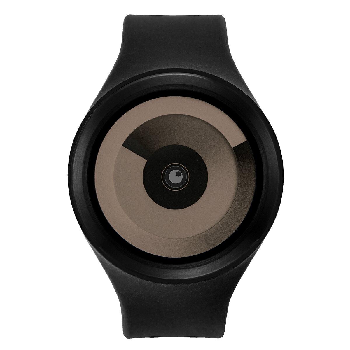 ZEROO SPIRAL GALAXY ゼロ 電池式クォーツ 腕時計 [W00605B03SR02] ブラック デザインウォッチ ペア用 メンズ レディース ユニセックス おしゃれ時計 デザイナーズ