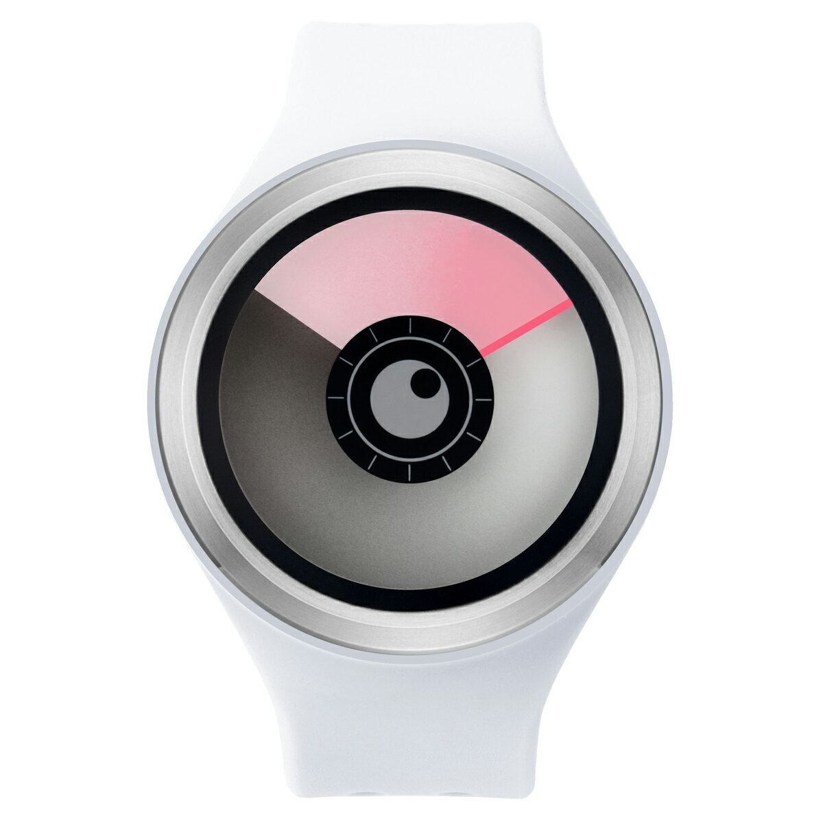 ZEROO AURORA BOREALIS ゼロ 電池式クォーツ 腕時計 [W00701B01SR01] ホワイト デザインウォッチ ペア用 メンズ レディース ユニセックス おしゃれ時計 デザイナーズ
