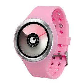 ZEROO AURORA BOREALIS ゼロ 電池式クォーツ 腕時計 [W00701B01SR06] ピンク デザインウォッチ ペア用 メンズ レディース ユニセックス おしゃれ時計 デザイナーズ
