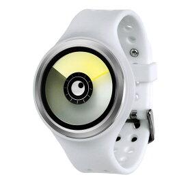 ZEROO AURORA BOREALIS ゼロ 電池式クォーツ 腕時計 [W00702B01SR01] ホワイト デザインウォッチ ペア用 メンズ レディース ユニセックス おしゃれ時計 デザイナーズ