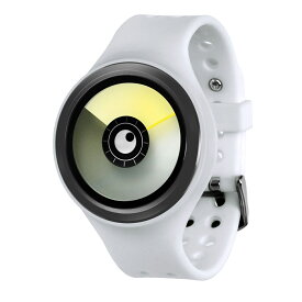 ZEROO AURORA BOREALIS ゼロ 電池式クォーツ 腕時計 [W00702B03SR01] ホワイト デザインウォッチ ペア用 メンズ レディース ユニセックス おしゃれ時計 デザイナーズ