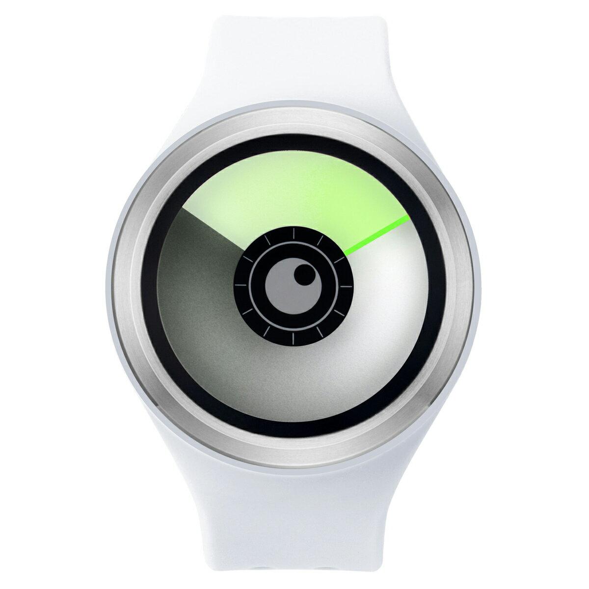 ZEROO AURORA BOREALIS ゼロ 電池式クォーツ 腕時計 [W00703B01SR01] ホワイト デザインウォッチ ペア用 メンズ レディース ユニセックス おしゃれ時計 デザイナーズ