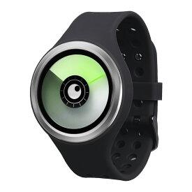 ZEROO AURORA BOREALIS ゼロ 電池式クォーツ 腕時計 [W00703B01SR02] ブラック デザインウォッチ ペア用 メンズ レディース ユニセックス おしゃれ時計 デザイナーズ
