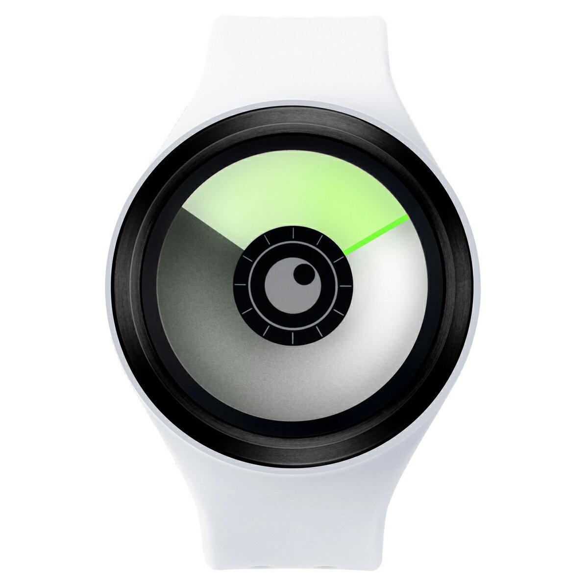 ZEROO AURORA BOREALIS ゼロ 電池式クォーツ 腕時計 [W00703B03SR01] ホワイト デザインウォッチ ペア用 メンズ レディース ユニセックス おしゃれ時計 デザイナーズ