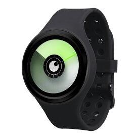 ZEROO AURORA BOREALIS ゼロ 電池式クォーツ 腕時計 [W00703B03SR02] ブラック デザインウォッチ ペア用 メンズ レディース ユニセックス おしゃれ時計 デザイナーズ