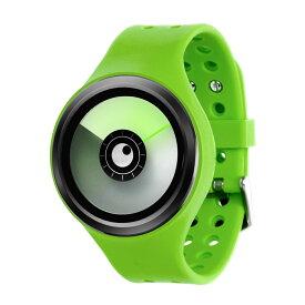 ZEROO AURORA BOREALIS ゼロ 電池式クォーツ 腕時計 [W00703B03SR05] グリーン デザインウォッチ ペア用 メンズ レディース ユニセックス おしゃれ時計 デザイナーズ