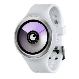 ZEROO AURORA BOREALIS ゼロ 電池式クォーツ 腕時計 [W00704B01SR01] ホワイト デザインウォッチ ペア用 メンズ レディース ユニセックス おしゃれ時計 デザイナーズ