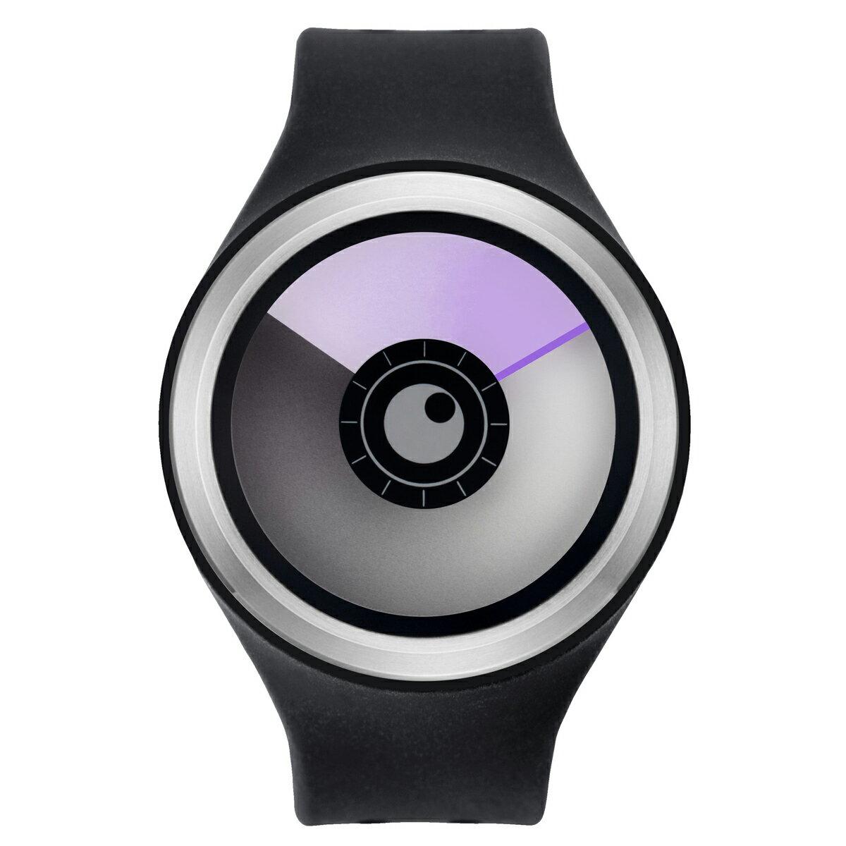 ZEROO AURORA BOREALIS ゼロ 電池式クォーツ 腕時計 [W00704B01SR02] ブラック デザインウォッチ ペア用 メンズ レディース ユニセックス おしゃれ時計 デザイナーズ