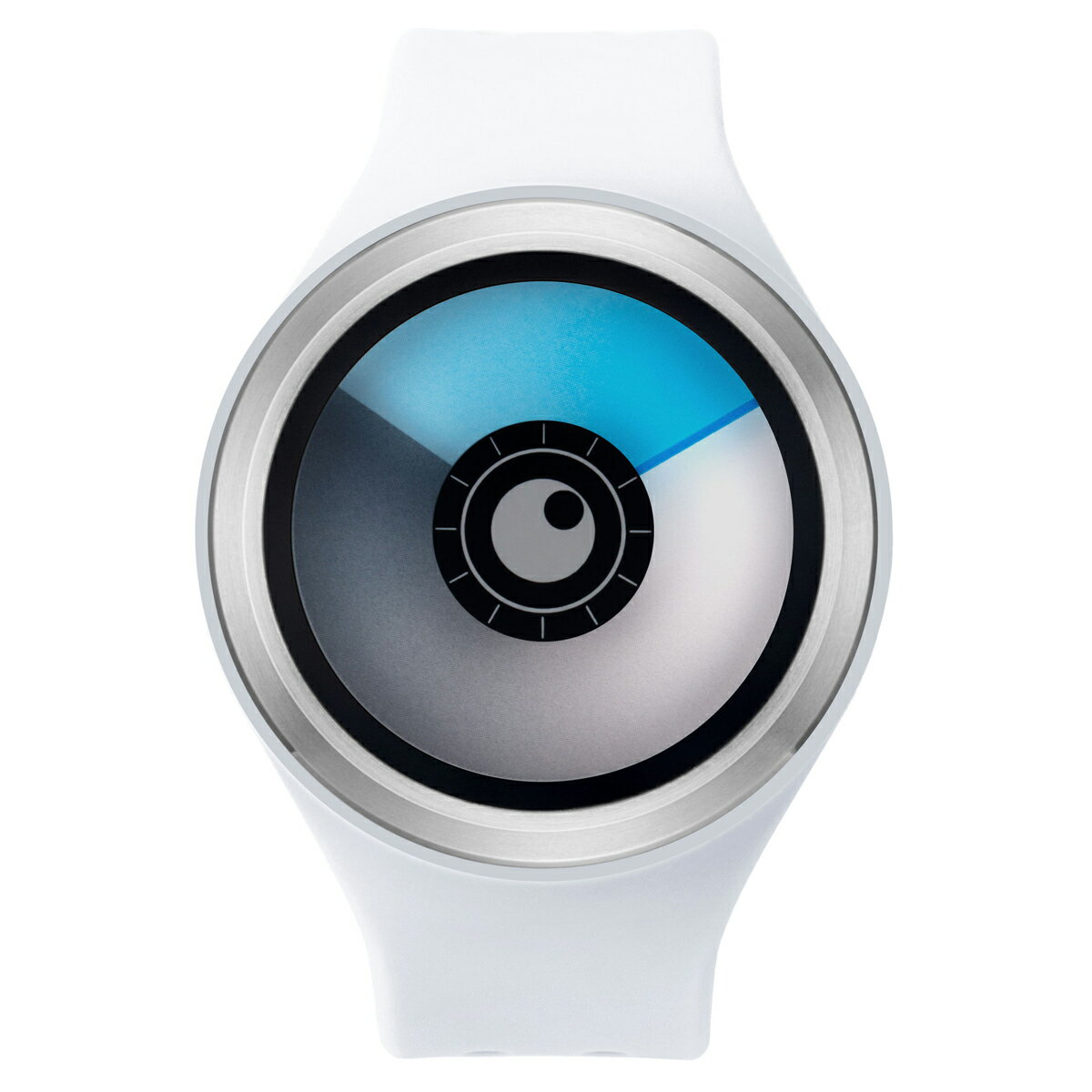 ZEROO AURORA BOREALIS ゼロ 電池式クォーツ 腕時計 [W00705B01SR01] ホワイト デザインウォッチ ペア用 メンズ レディース ユニセックス おしゃれ時計 デザイナーズ