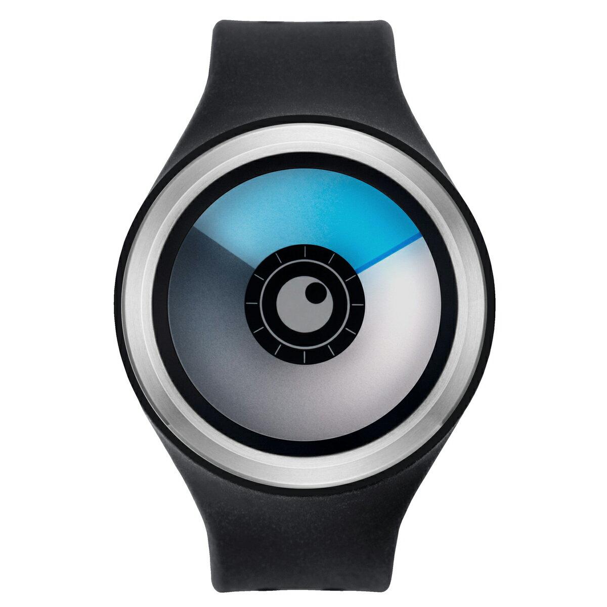 ZEROO AURORA BOREALIS ゼロ 電池式クォーツ 腕時計 [W00705B01SR02] ブラック デザインウォッチ ペア用 メンズ レディース ユニセックス おしゃれ時計 デザイナーズ