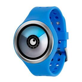 ZEROO AURORA BOREALIS ゼロ 電池式クォーツ 腕時計 [W00705B01SR04] ブルー デザインウォッチ ペア用 メンズ レディース ユニセックス おしゃれ時計 デザイナーズ