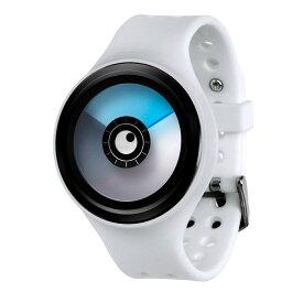 ZEROO AURORA BOREALIS ゼロ 電池式クォーツ 腕時計 [W00705B03SR01] ホワイト デザインウォッチ ペア用 メンズ レディース ユニセックス おしゃれ時計 デザイナーズ