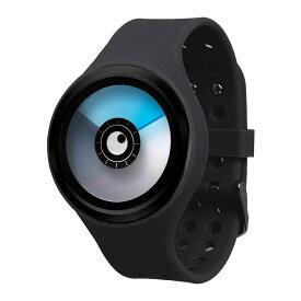ZEROO AURORA BOREALIS ゼロ 電池式クォーツ 腕時計 [W00705B03SR02] ブラック デザインウォッチ ペア用 メンズ レディース ユニセックス おしゃれ時計 デザイナーズ