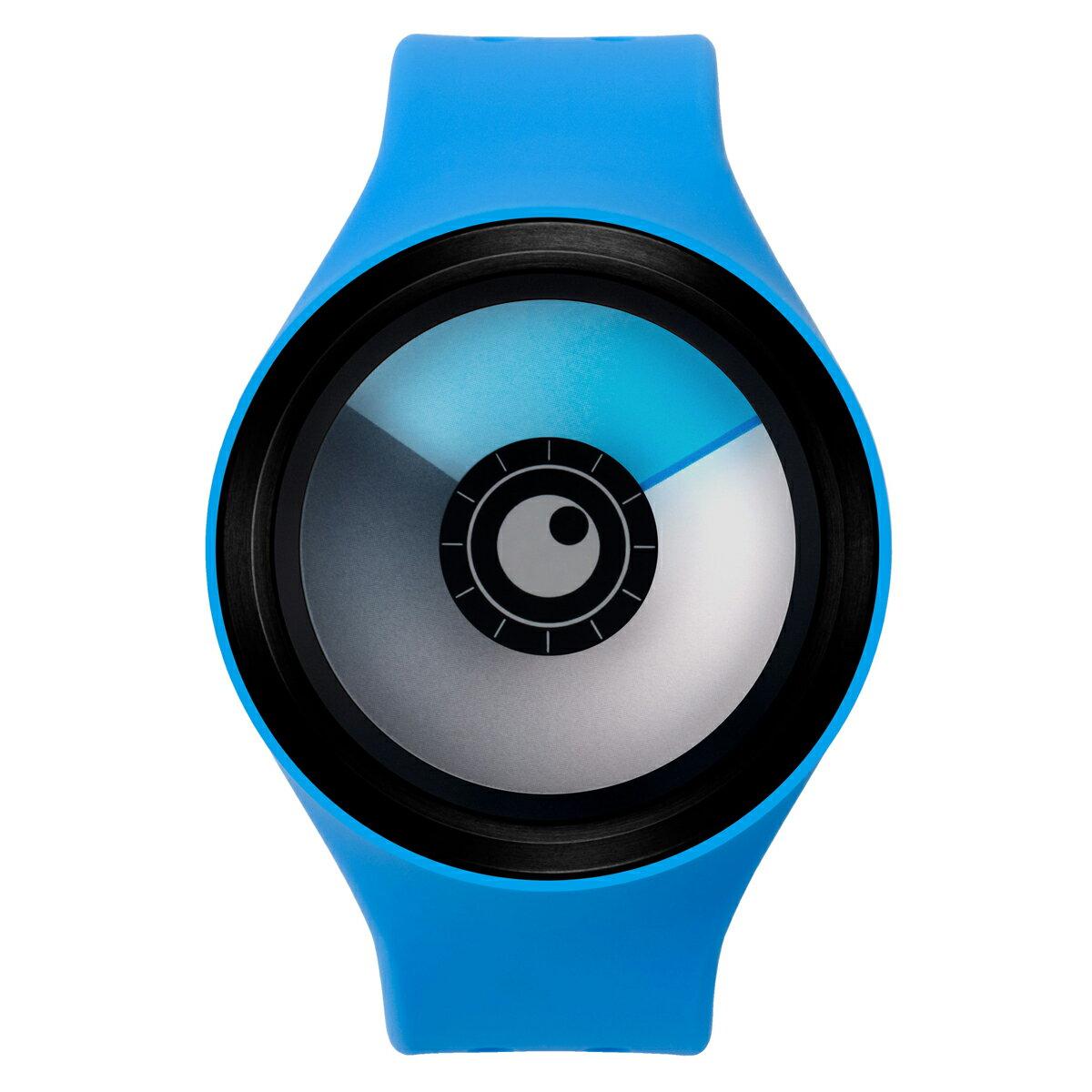 ZEROO AURORA BOREALIS ゼロ 電池式クォーツ 腕時計 [W00705B03SR04] ブルー デザインウォッチ ペア用 メンズ レディース ユニセックス おしゃれ時計 デザイナーズ